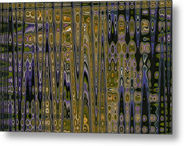Waves Of Passion  Metal Print