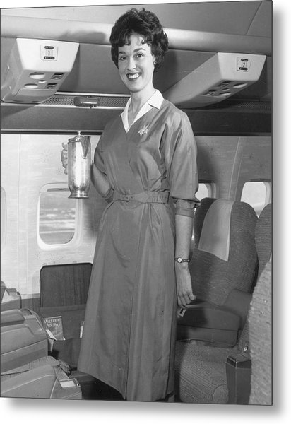 Welcome Aboard Metal Print by Archive Photos