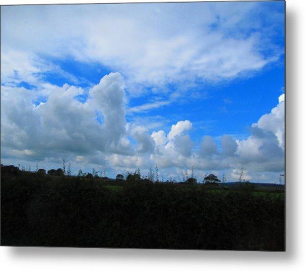 Welsh Sky Metal Print