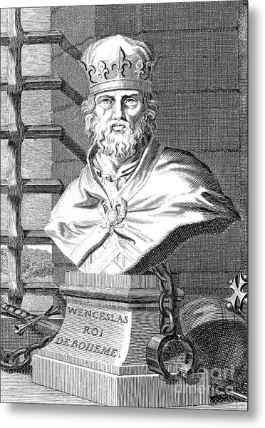 Wenceslaus (1361-1419) Metal Print by Granger