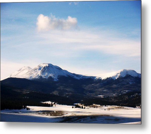 Western Beauty Metal Print