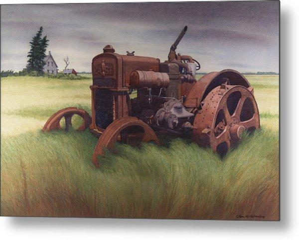 What Rust Hath Wrought  Metal Print by Glen Heberling