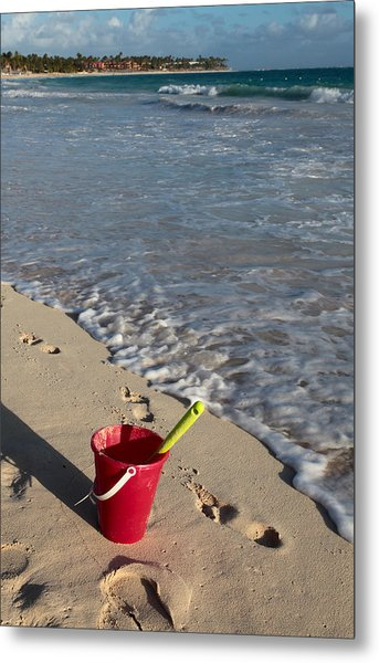 When Can We Go To The Beach? Metal Print
