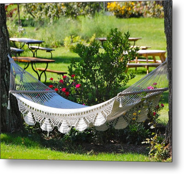 When The Livin' Is Easy Metal Print