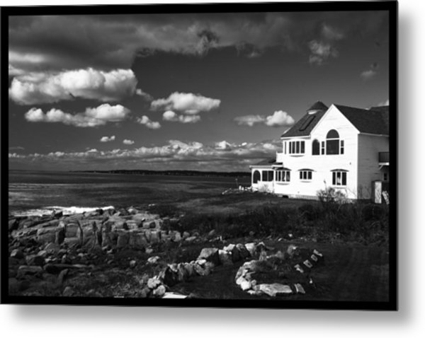 White House At Nuble Metal Print