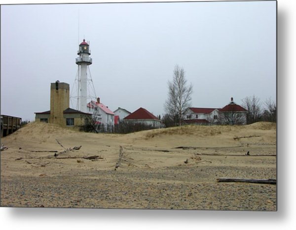 Whitefish Point Light Station Metal Print