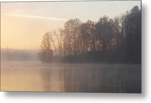 Whitewater Mist Metal Print