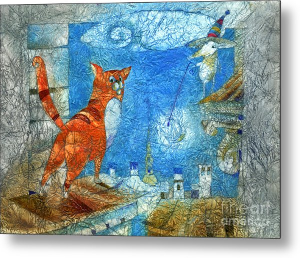 Who Lights The Stars Metal Print by Svetlana and Sabir Gadghievs