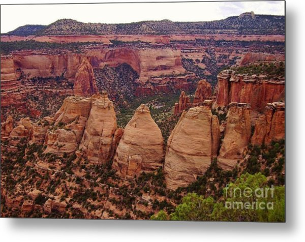 Colorado National Monument  Metal Print by Patricia Kertson