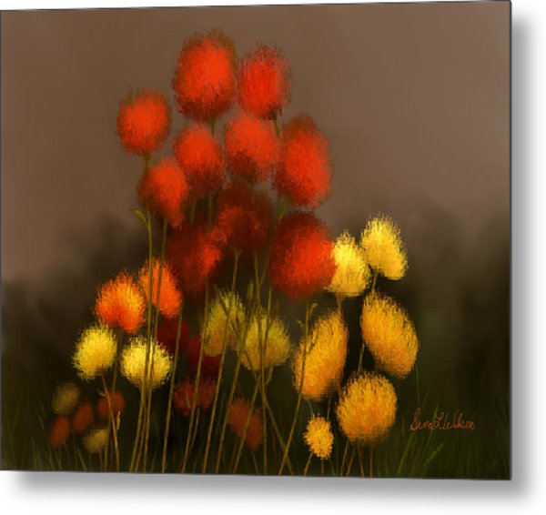 Wildflowers In Symphony Metal Print