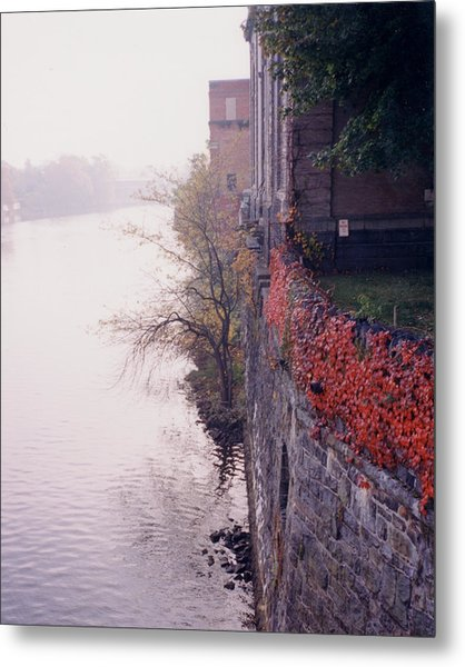 Wilmington Waterworks Metal Print