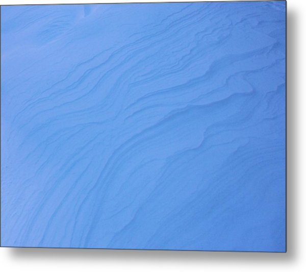 Wind And Ice Metal Print by