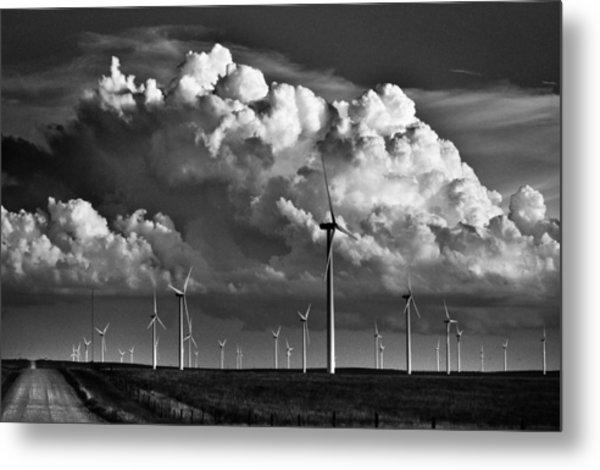 Wind Storm Metal Print