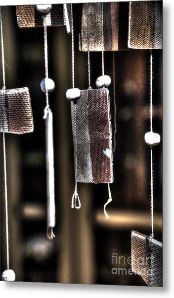 Windbreak Harp 2 Metal Print by Elena Mussi