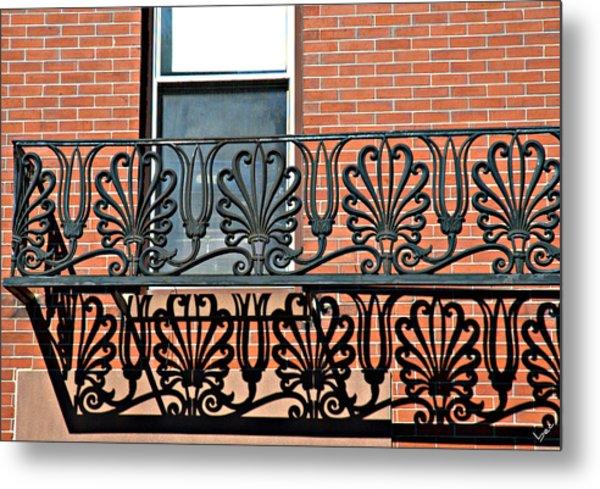 Window Scrolls Metal Print by Bruce Carpenter
