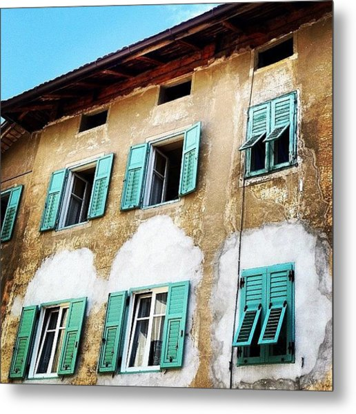 Windows Metal Print