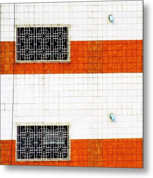 Windows Of Opportunity #windows #two Metal Print