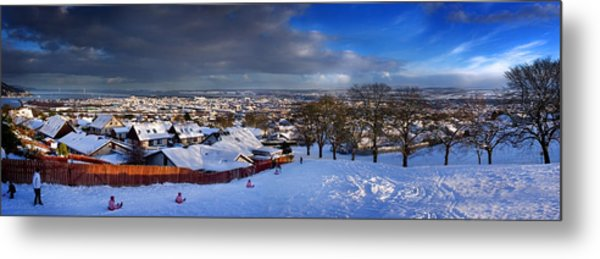 Winter In Inverness Metal Print