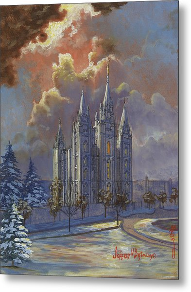 Winter Solace Metal Print