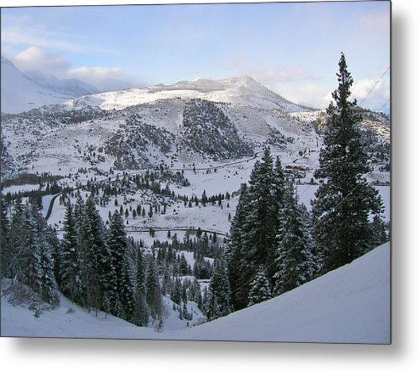 Winter Wonderland Fine Art Print Metal Print by Ian Stevenson