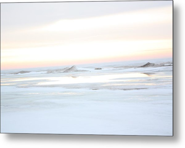 Winters Bright Light Metal Print