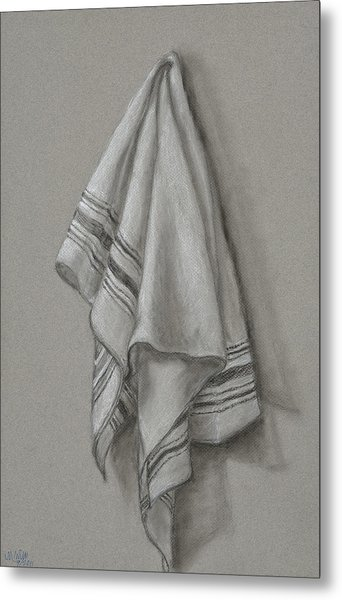 Wipe It Away Metal Print