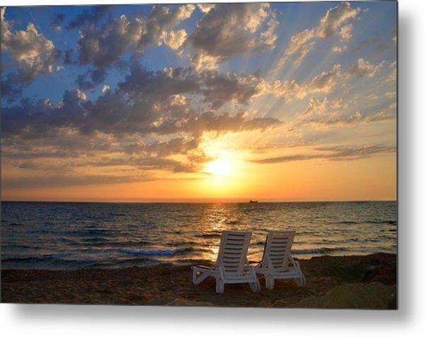 Wish You Were Here - Cyprus Metal Print