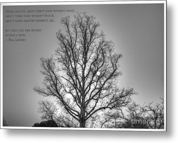 Without Hope... Metal Print