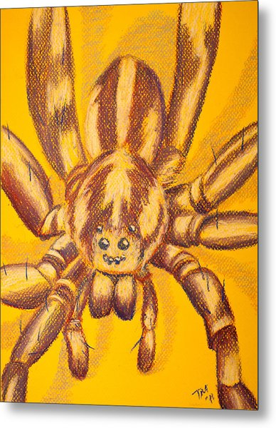Wolf Spider Metal Print by Thomas Maynard