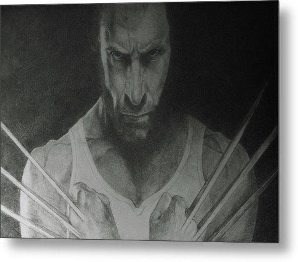 Wolverine Metal Print by Glenn Daniels