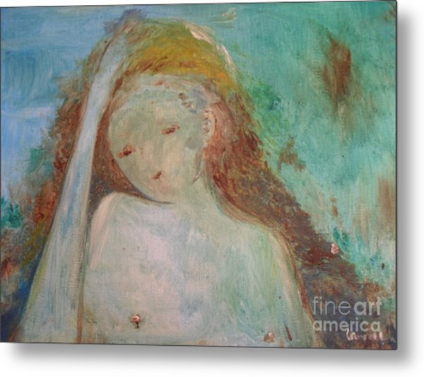 Woman Of Sorrows Metal Print