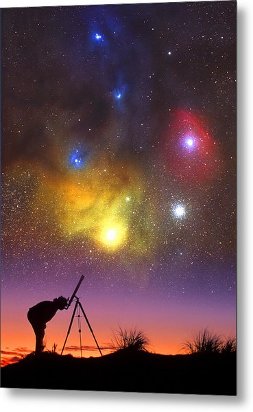 Wonder Of The Universe Metal Print