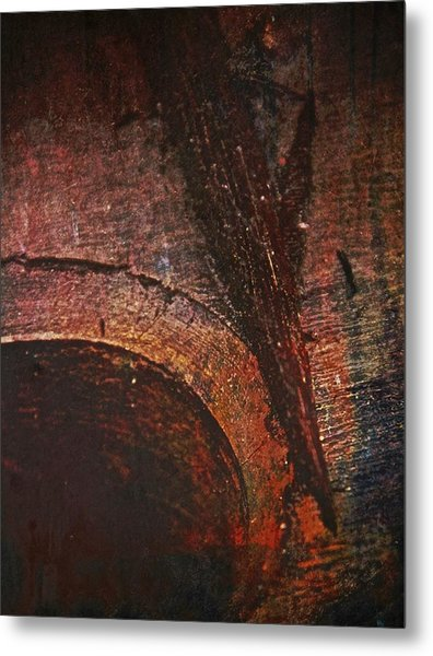 Wood Abstract Metal Print by Odd Jeppesen