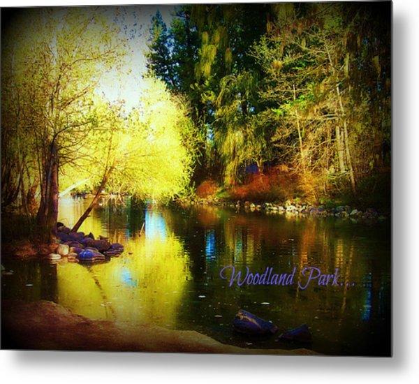 Woodland Park Metal Print