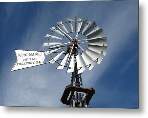 Woodmanse Windmill Metal Print