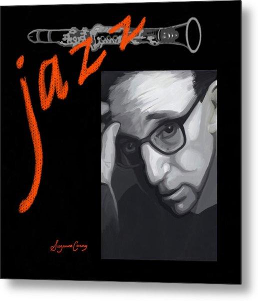 Woody Allen From Wild Man Blues Metal Print