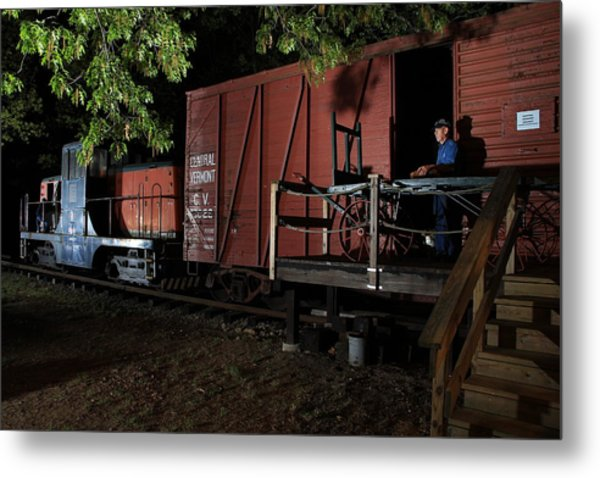 Working On The Railroad 2 Metal Print