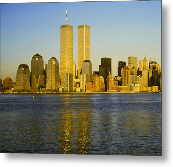 World Trade Center 1987 Metal Print