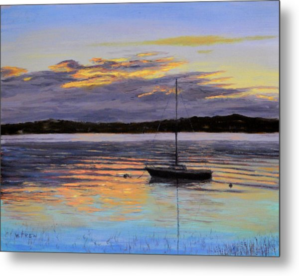 Worlds End Boat Metal Print