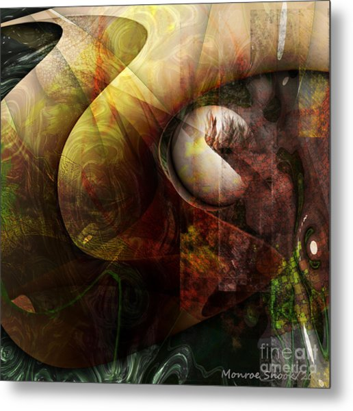 Worm Hole Metal Print by Monroe Snook