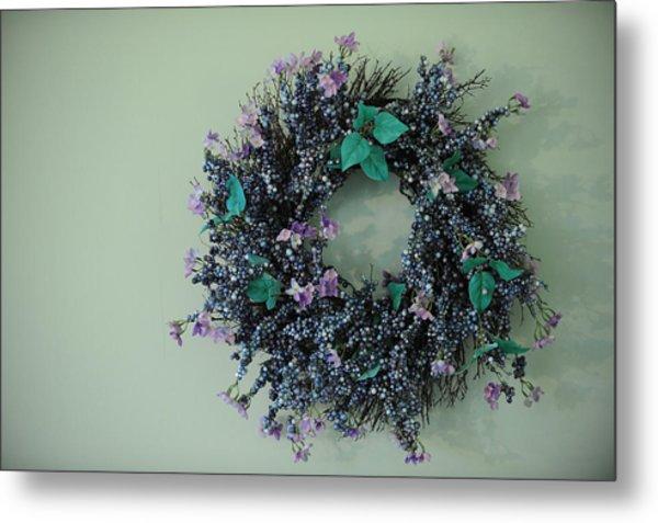 Wreath Metal Print by Brandon McNabb