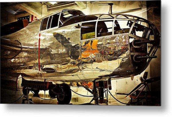 Ww II Fighter Plane Metal Print