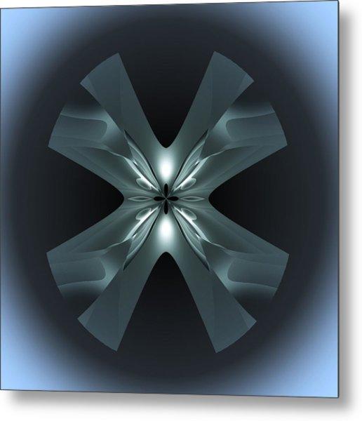 X Lights Metal Print