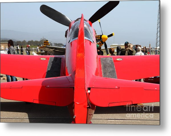 Yak 9u Airplane . 7d15802 Metal Print by Wingsdomain Art and Photography