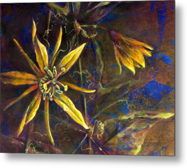 Yellow Passion Metal Print