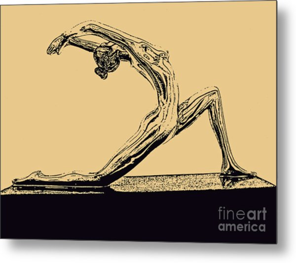 Yoga Number One Metal Print
