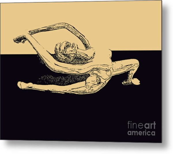 Yoga Number Two Metal Print