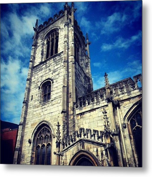 #yorkuk #york #yorkshire #uk #england Metal Print