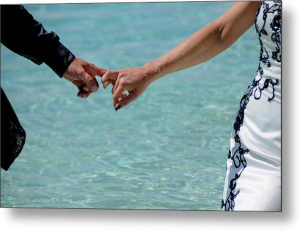 You And Me. Togetherness Metal Print
