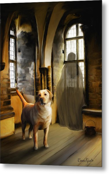 You Are Always Safe With Me Metal Print